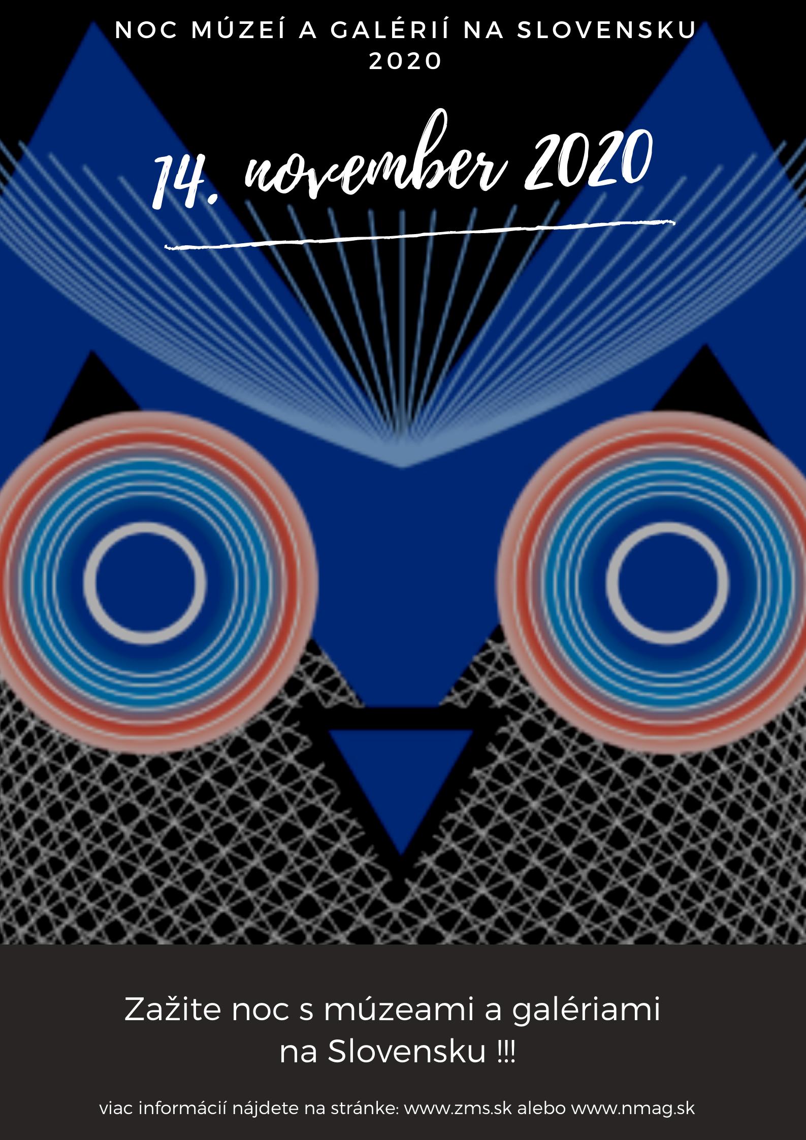 Noc múzeí 2020 - ZMS na stránku